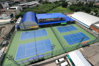 バンコク初!冷房完備!<br/>インドアテニススクールがオープン