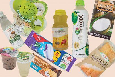 タイのコンビニで買えるココナッツ商品10品!