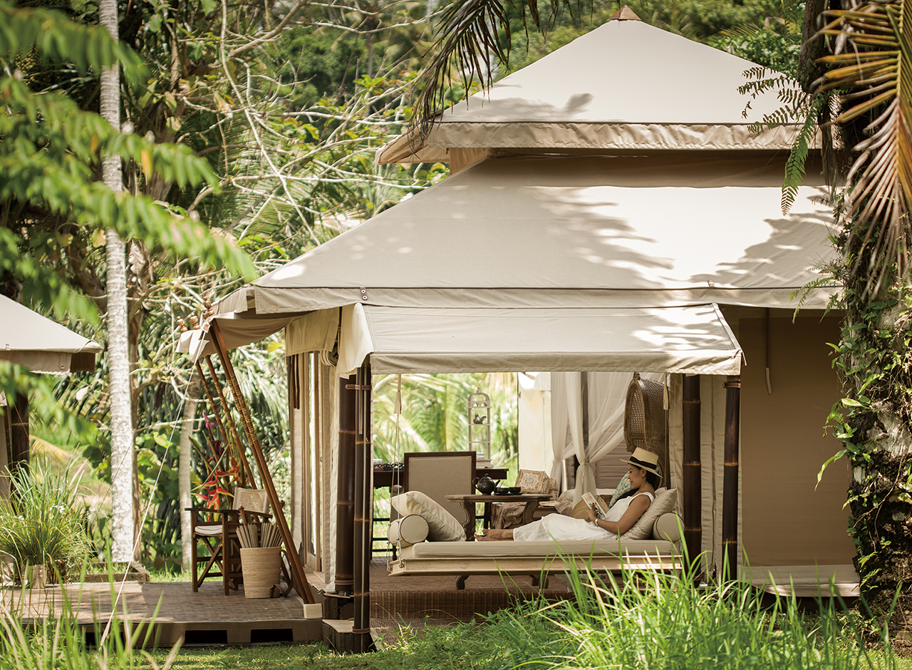 Luxury Private Pool Villas and Luxury glamping tented villas near the beach in Ko Samui - Thailand