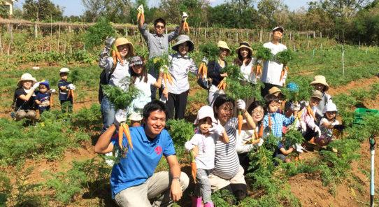 「サスティナ」発着 人気のオーガニック農園ツアー開催!