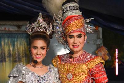 タイの旅する劇団「リゲー」 ②主役の2人にインタビュー