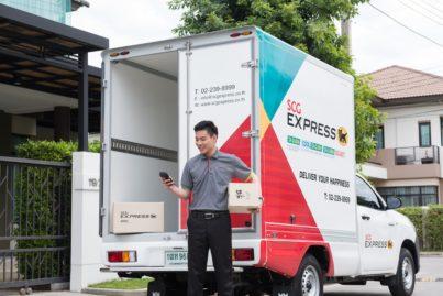 SCG EXPRESSがバンコクにて小口宅配事業を開始。