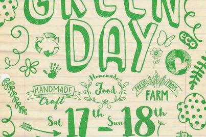 953コミュニティモールでハンドメイド・クラフトやホームメイドフードのマーケット「GREEN DAY」を開催