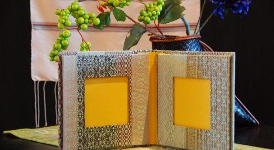 ソップモエアーツ:カレン族の織物でカルトナージュ・ワークショップ