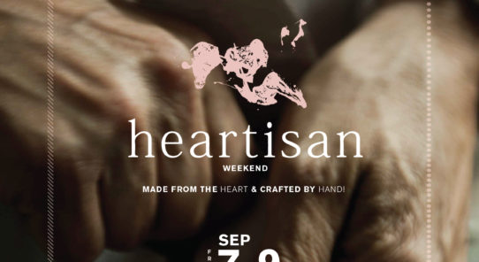 heartisan WEEKEND @ theCOMMONS