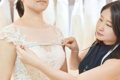 お気に入りがきっと見つかる!日本人対応のドレス専門店
