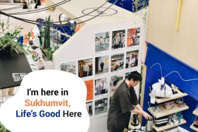 9月26日まで!スクンビットグッズが盛りだくさんのコンセプトストア「Life's Good」をエンポリアムで開催中!