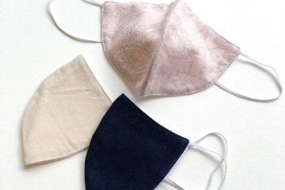 MOSS TERRACE 洗える天然素材マスク