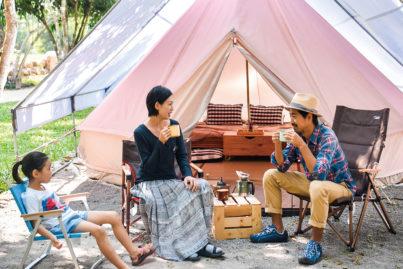 カオヤイでグランピング体験!自然の中でBBQやキャンプ泊!