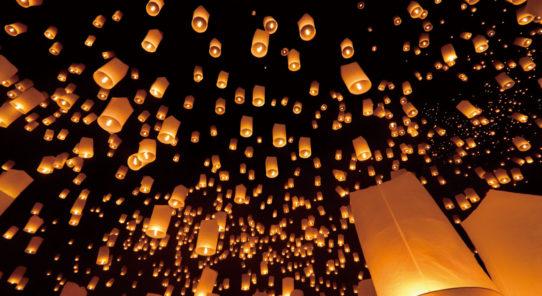 一生に一度は見たい絶景!チェンマイのロイクラトン(イーペン祭り)2021年情報